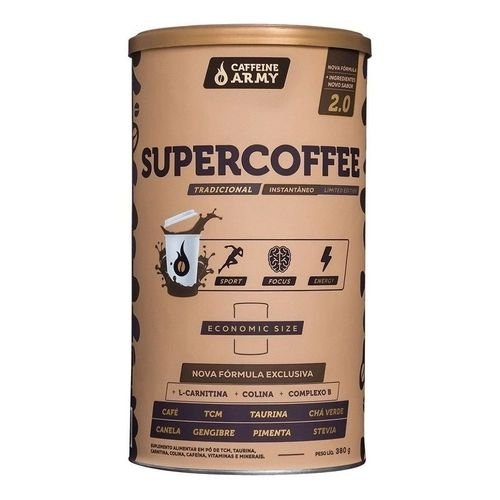 SUPERCOFFE ECONOMIC SIZE CAFFFEINE ARMY 380G