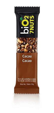 BARRA BIO 2 CASTANHAS E CACAU 25G
