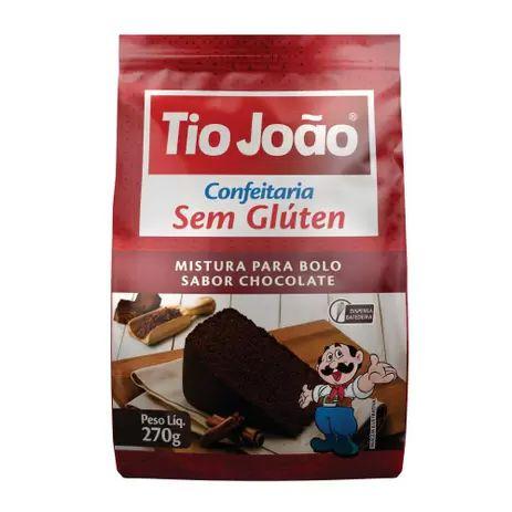 MISTURA P BOLO CHOCOLATE TIO JOAO 270G