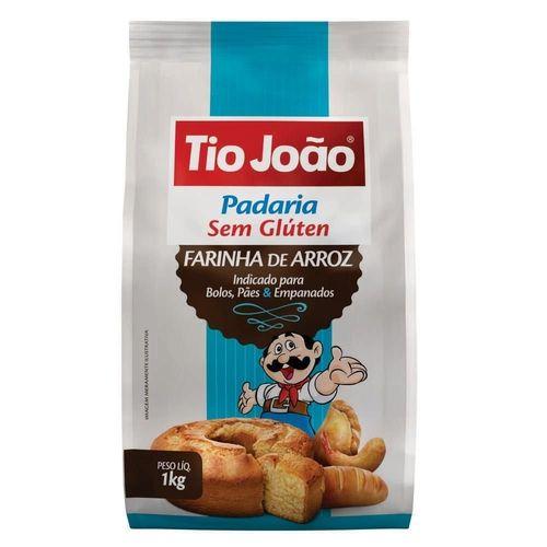 FARINHA DE ARROZ TIO JOAO 1KG