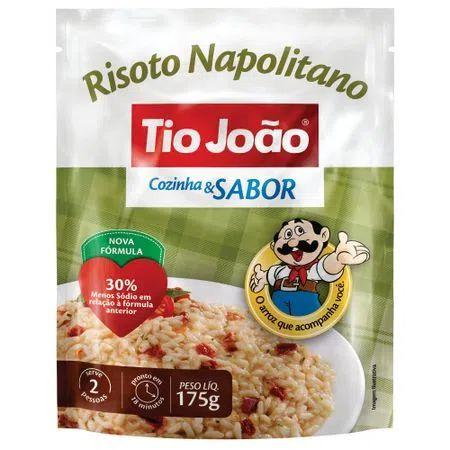 RISOTO NAPOLITANO TIO JOAO 175G