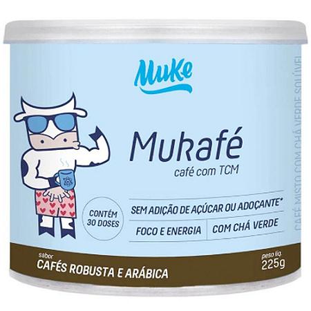 MUKAFÉ MUKE - 225G  MUKE SUPLEMENTOS