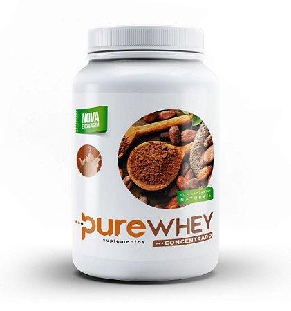 Whey Protein Concentrado Cacau Pure 1kg