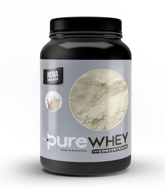 Whey Protein Concentrado Neutro 1kg