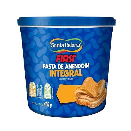 Pasta Amendoim Integral First 450g