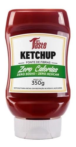 Ketchup Saudável Zero Sódio Açúcar E Calorias Mrs Taste 350g
