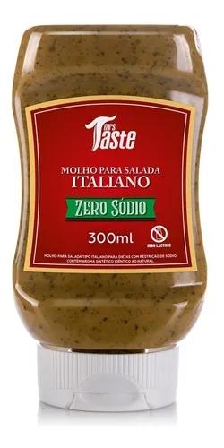 Molho Para Salada Zero Sódio - Italiano - Mrs. Taste - 300ml