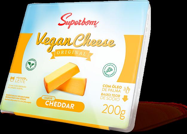 Vegan Chesse Cheddar Superbom 200g