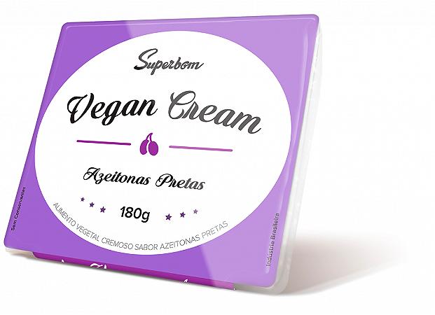 Vegan Cream Azeitona Preta Superbom 200g