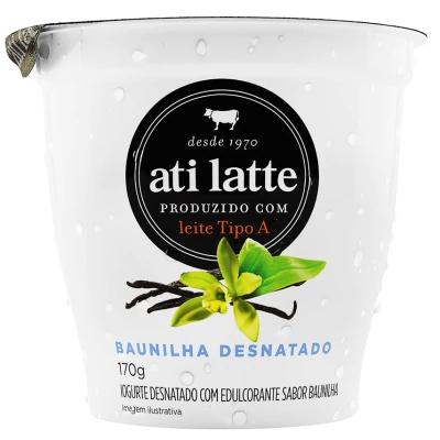 Iogurte desnatado Baunilha Atilatte 170g