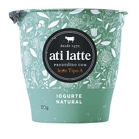 Iogurte Integral natural Atilatte 170g