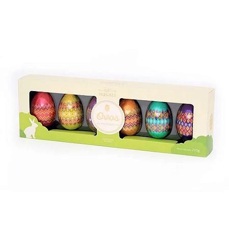 Ovos de pascoa pintados Nugali 210g