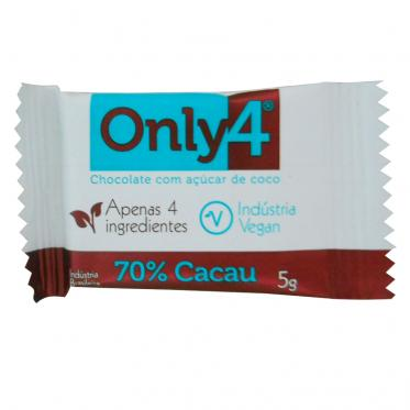 Chocolate 70% ONLY4 5g