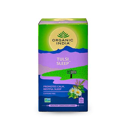 Chá Tulsi Sleep Organic India 45g