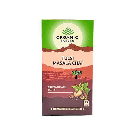 Chá Tulsi Masala chai Organic India 52g
