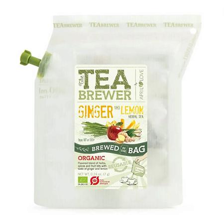 Chá Ginger and Lemon Brewer 7g