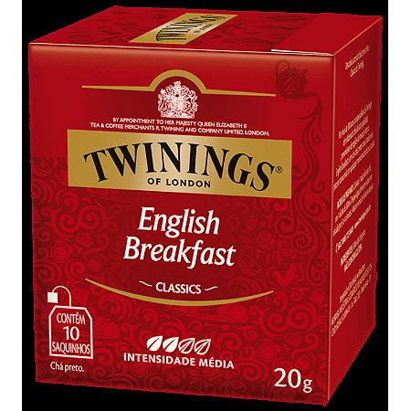 Chá English Breakfast Classic Twinings 20g