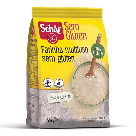 Farinha multiuso sem gluten Schar 500g