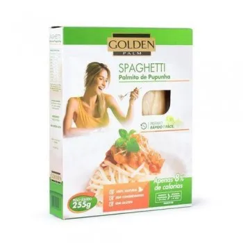 Spaguetti palmito de pupunha Golden Palm 255g
