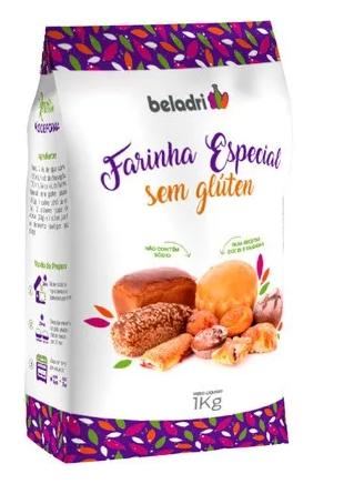 Farinha especial sem gluten Beladri 1kg