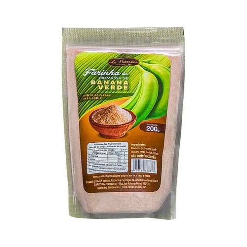 Farinha biomassa banana verde La Pianezza 200g