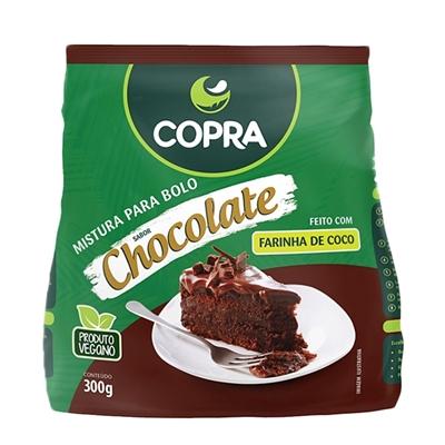 Mistura para bolo sabor chocolate sem gluten Copra 300g