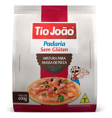 Mistura para pizza sem gluten Tio João 400g