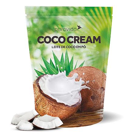 Leite de coco em po coco cream Pura Vida 250g