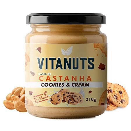 Pasta Castanha cookies & cream Vitanuts 210g