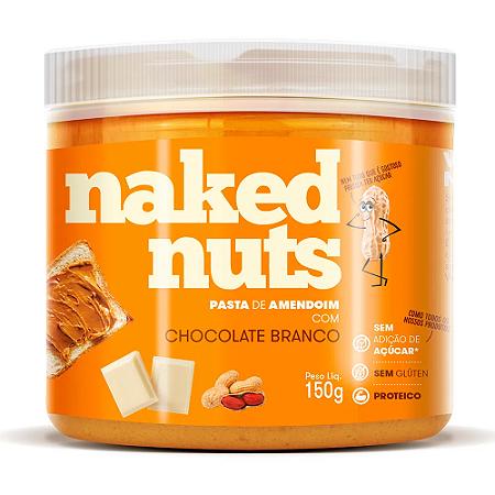 Pasta de amendoim com chocolate branco Naked Nuts 150g