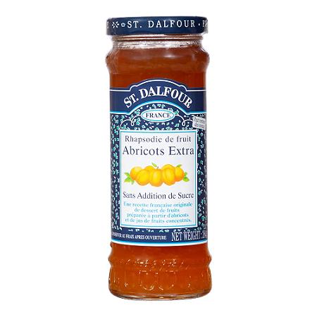 Geleia de damasco 100% fruta St Dalfour 284g