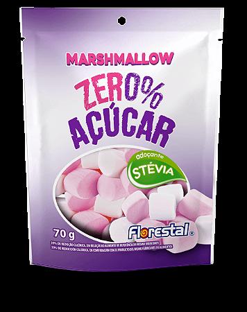 Marshmallow zero açucar florestal 70g