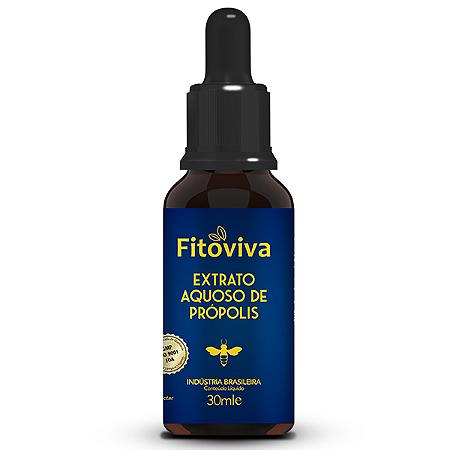 Extrato aquoso de propolis sem alcool Fitoviva 20ml