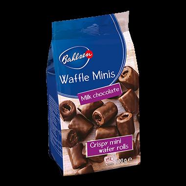 Waflle mini chocolate ao leite Bahlsen 100g