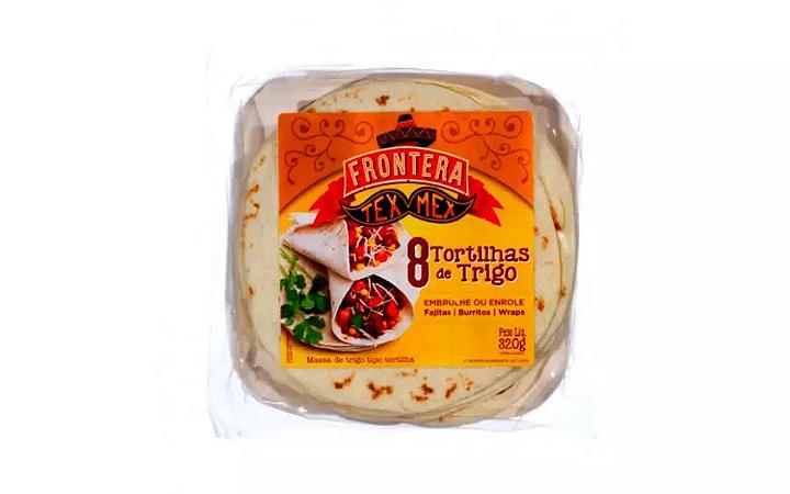 Tortilhas de trigo Frontera 320g