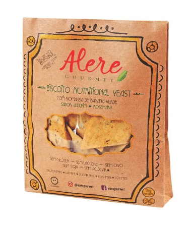 Biscoito Nutritional Yeast Alere 70g