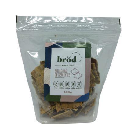 Bolachas de sementes Brod 100g