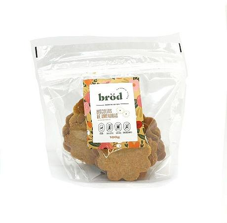 Biscoito de amendoas Brod 100g