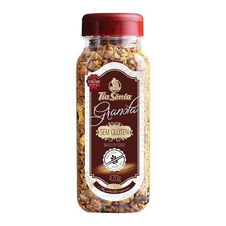 Granola Sem Gluten Tia Sonia 420g
