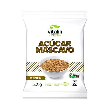 Açucar mascavo organico  Vitalin 500g