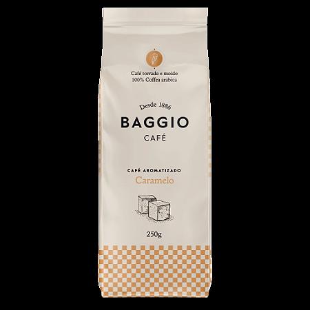 Cafe aromatizado torrado e moido caramelo Baggio 250g