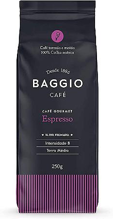 Cafe torrado e moido espresso Baggio 250g