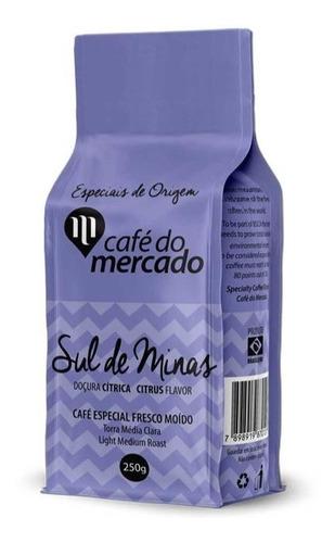 Cafe torrado e moido sul de minas Cafe do Mercado 250g