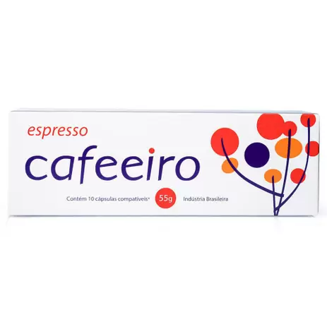 Cafe em capsula espresso caffeeiro cafe do mercado 10capsulas
