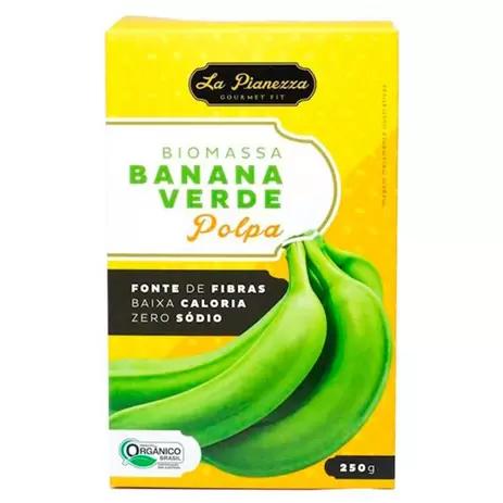 Biomassa banana verde organica polpa La Pianezza 250g