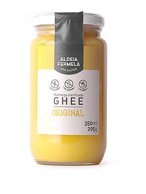Manteiga ghee tradicional Aldeia Fermela 300g