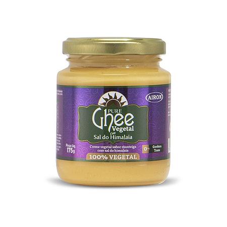 Manteiga ghee vegetal com sal do himalaia Airon 175g