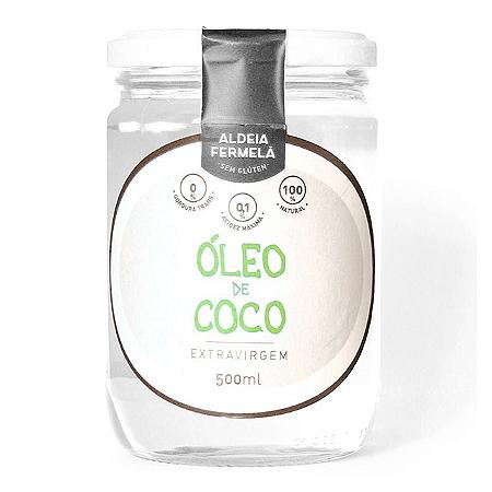 Oleo de coco extra virgem Aldeia Fermela 500ml