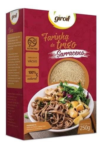 Farinha de trigo sarraceno Giroil 250g