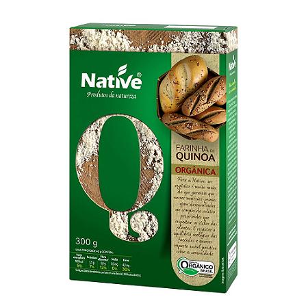 Farinha de quinoa organica Native 300g